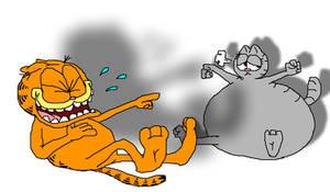 Garfield and Fat Nermal