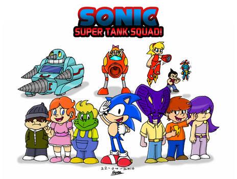Sonic Super Tank Squad!