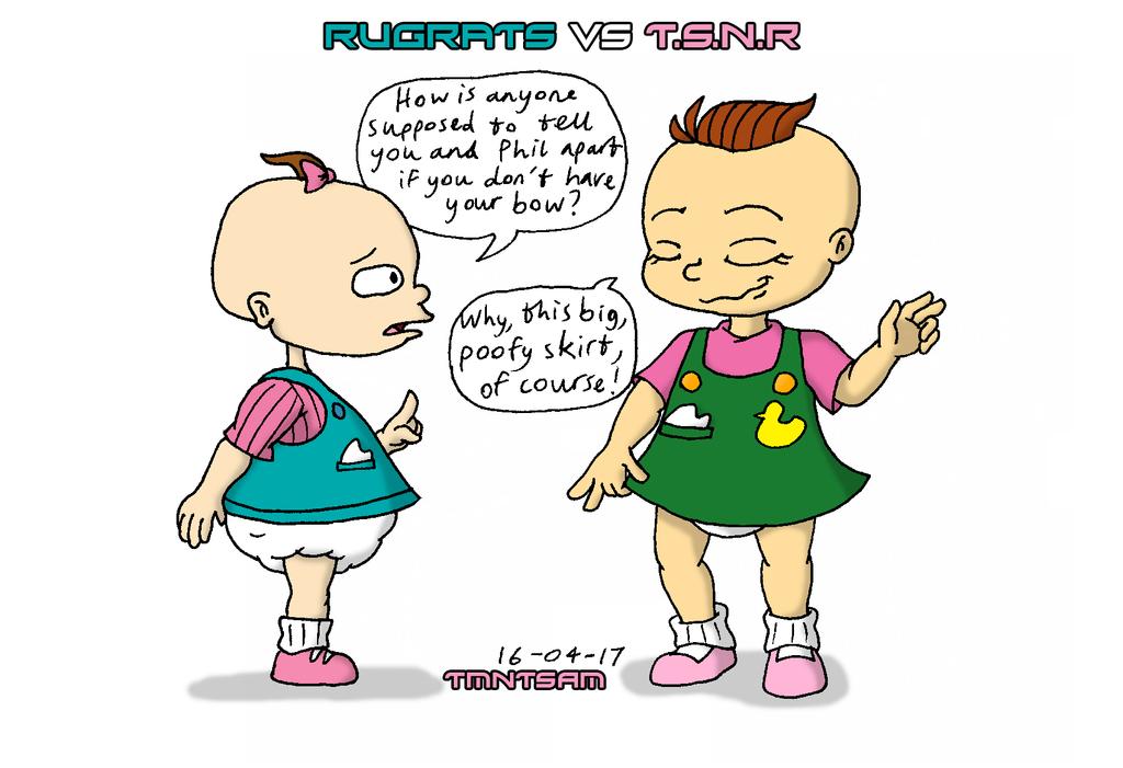 Rugrats vs TSNR 4 - Lil by tmntsam on DeviantArt
