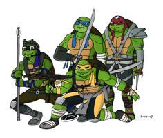 TMNT - Bay Movie Turtles