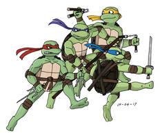 TMNT - 2007 Movie Turtles