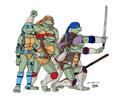 TMNT - Saban Turtles