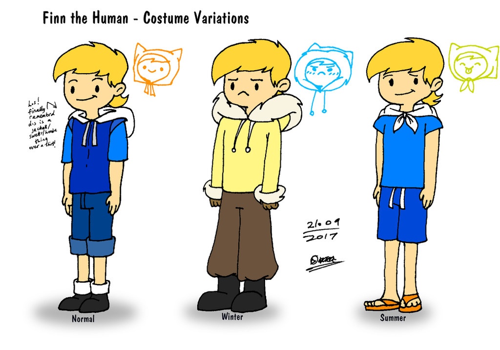 Adventure Time - Finnu0027s Costume Variations by tmntsam ...  sc 1 st  DeviantArt & Adventure Time - Finnu0027s Costume Variations by tmntsam on DeviantArt