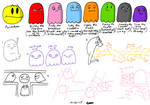 Pacman 256 Sketch Dump