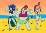 Kamikaze Fireballs - Beach Time!