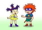 TSNR - Kimi and Chuckie by tmntsam