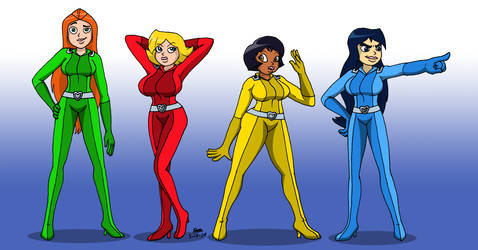 Totally Spies - Fanservice Spies