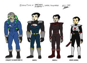 TMNT - Super Soldiers Headcanon