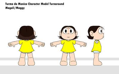 Turma Da Monica Model - Maggy
