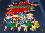 Toddler Super Ninja Rugrats! by tmntsam
