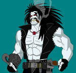 Lobo Young Justice Style