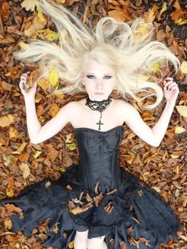 Goth stock photo