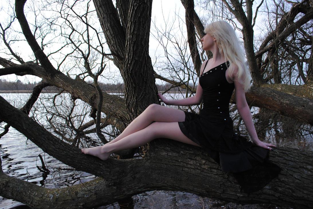 Black Fairy Stock by MariaAmanda
