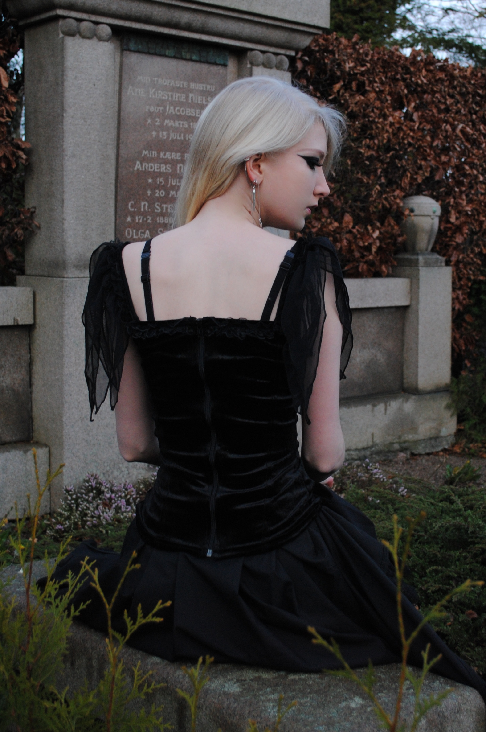Goth stock by MariaAmanda