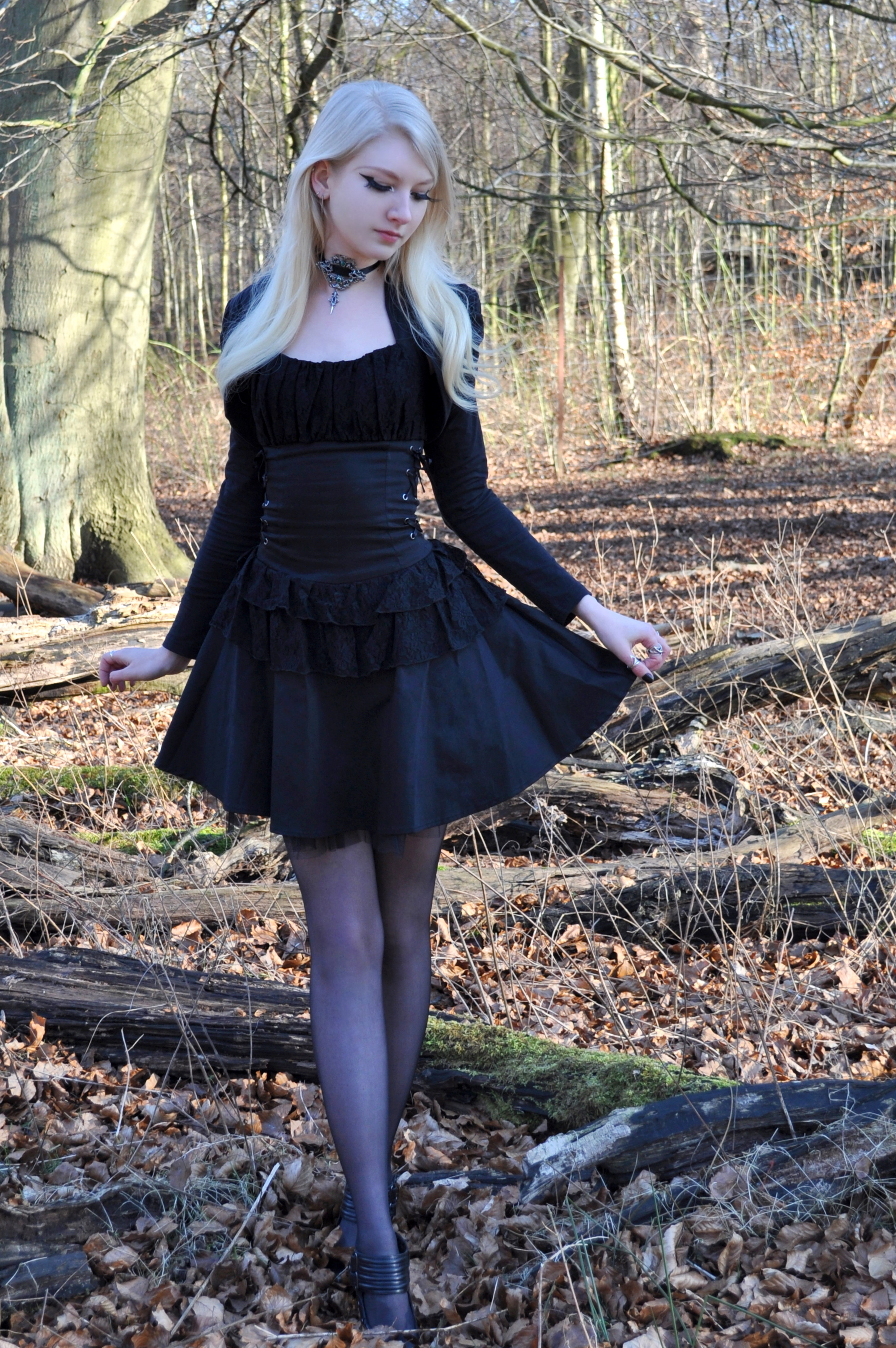 Gothic Spring Stock by MariaAmanda