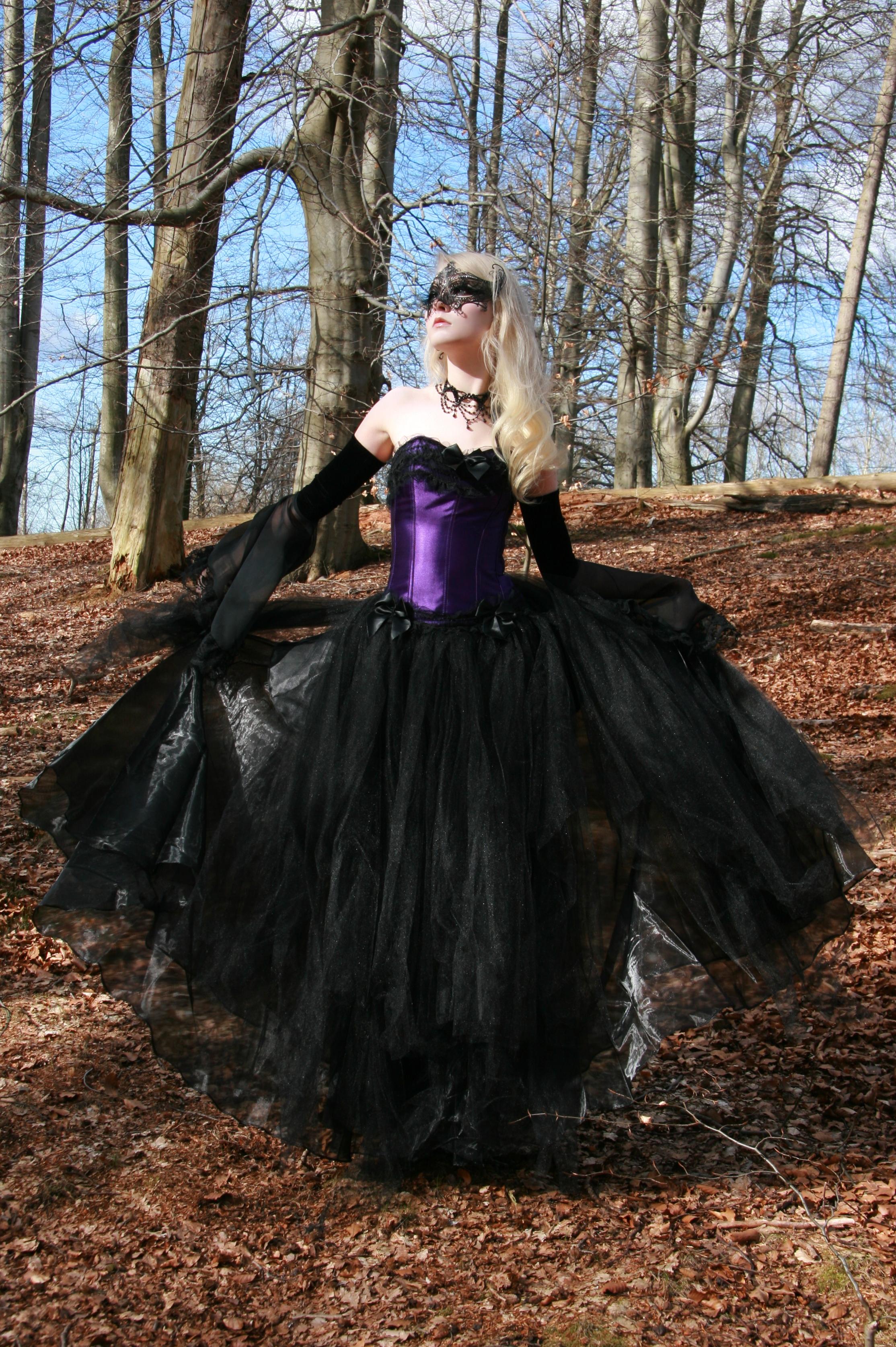 Purple Masquerade Stock by MariaAmanda