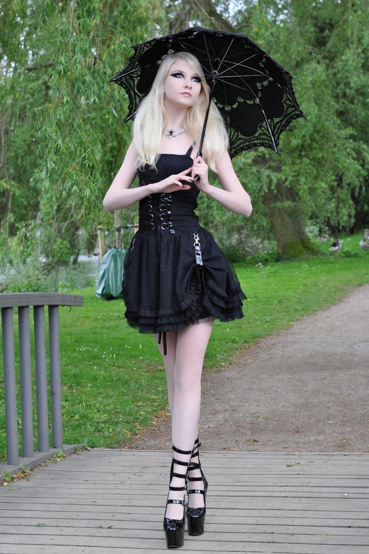Gothic Doll Stock by MariaAmanda