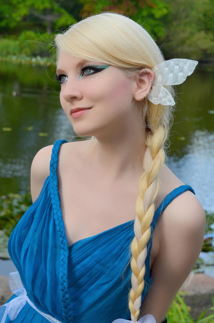 Water Nymph Stock by MariaAmanda