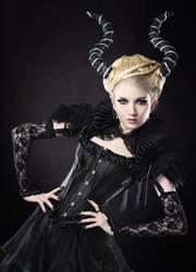 Demon Queen Stock by MariaAmanda
