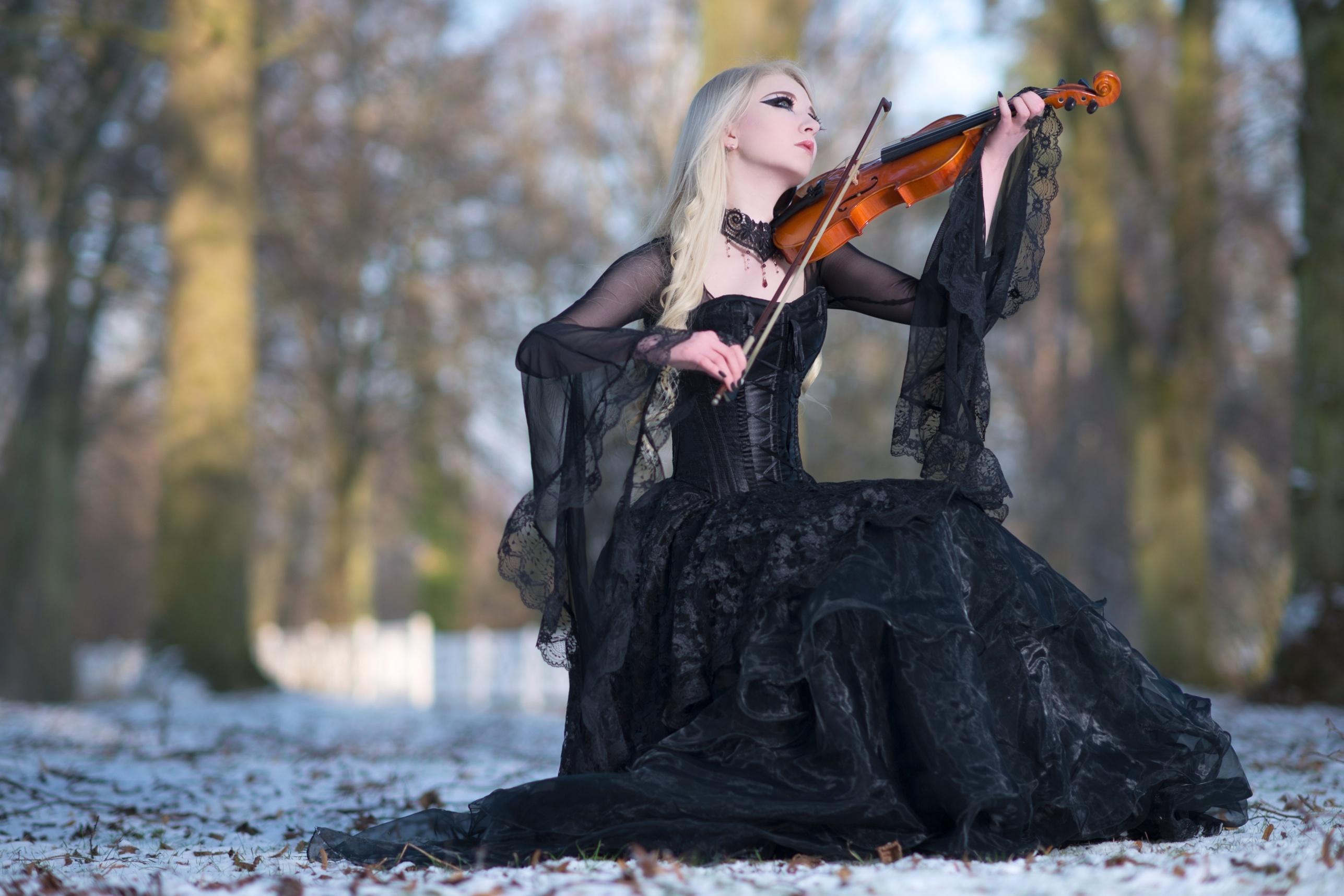 Winters Melody - Stock by MariaAmanda