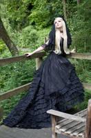 Black Bride - Stock by MariaAmanda