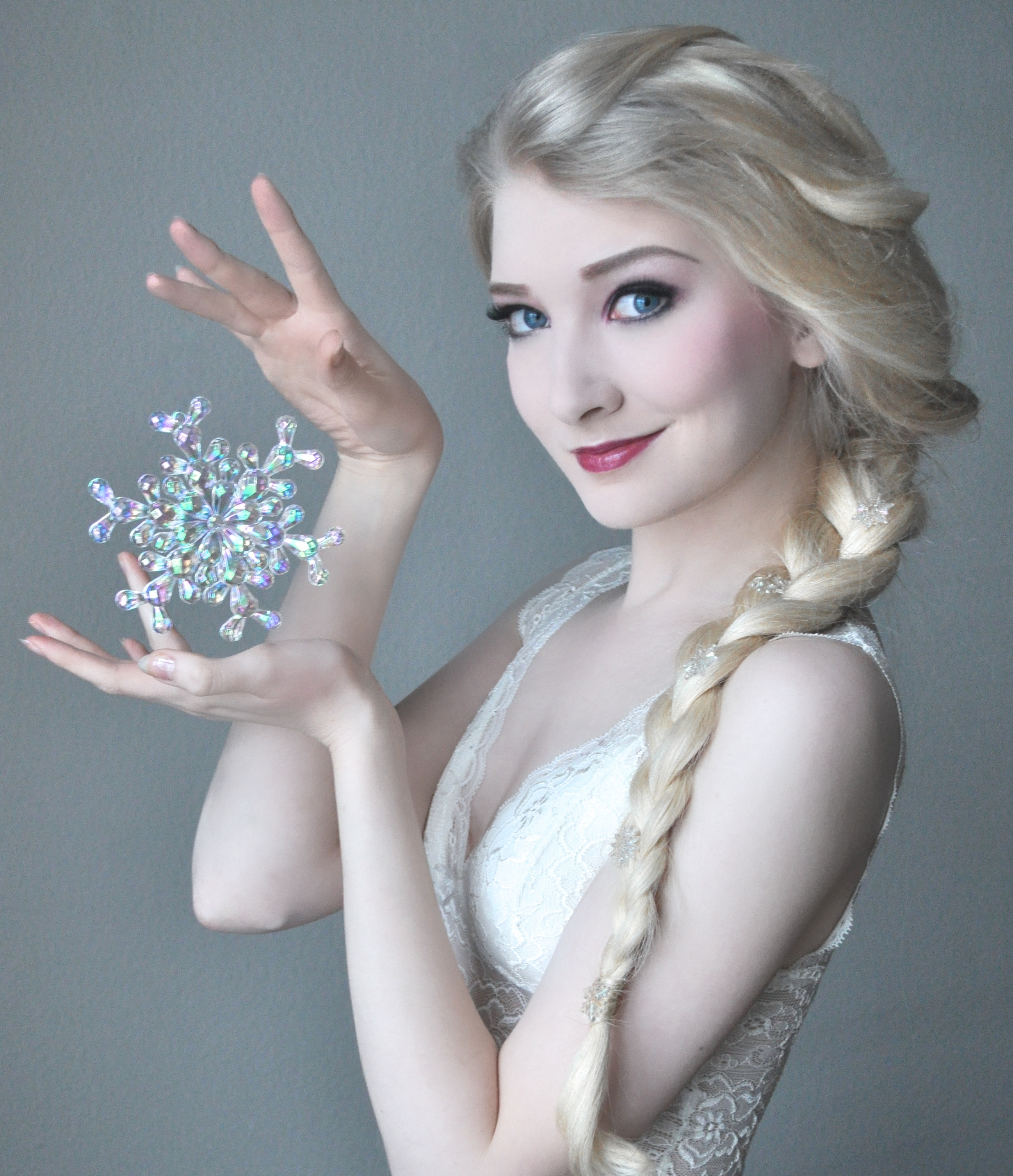 Elsa Portrait - Stock by MariaAmanda