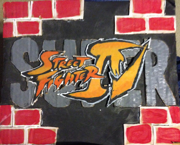SSFIV logo by julianDB92