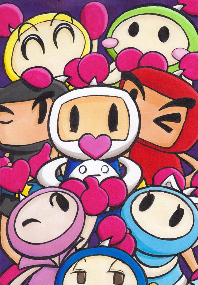 Super Bomberman R by Katzii-Yataki