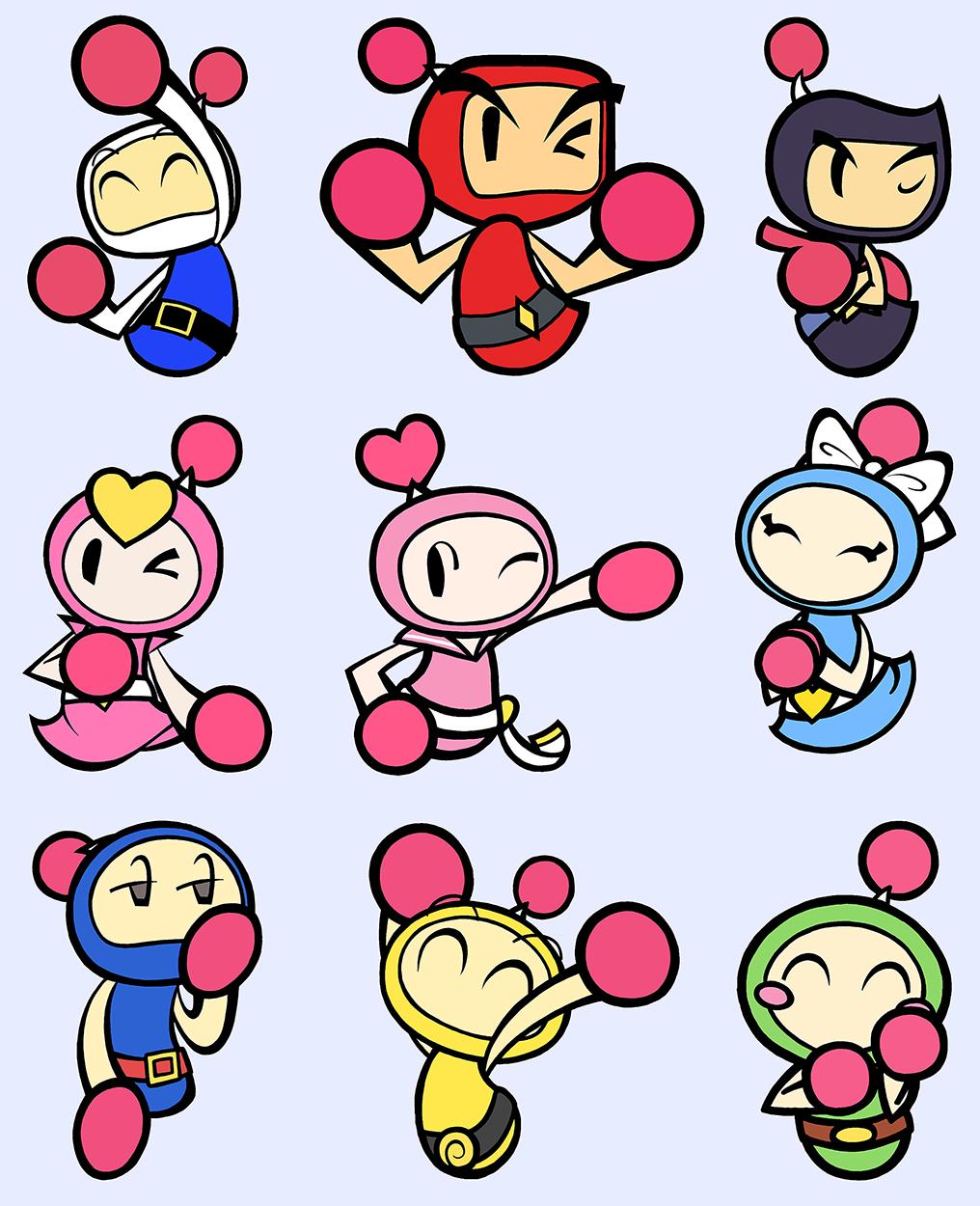 Bomberman Brothers by Katzii-Yataki