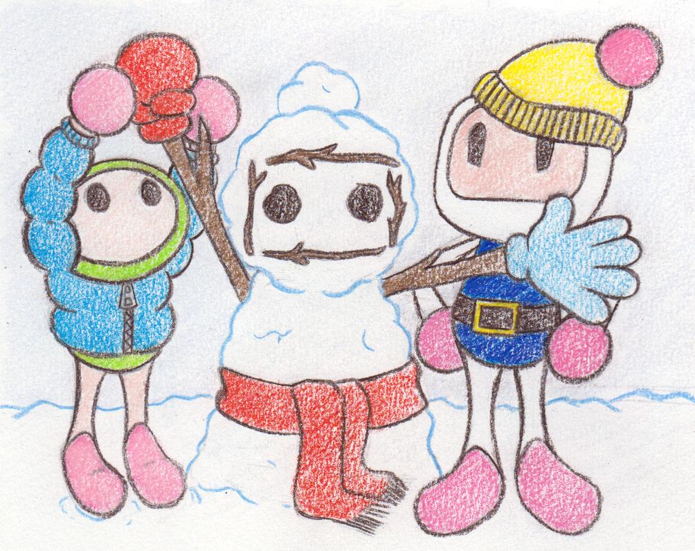 Snow Day 1/4 by Katzii-Yataki