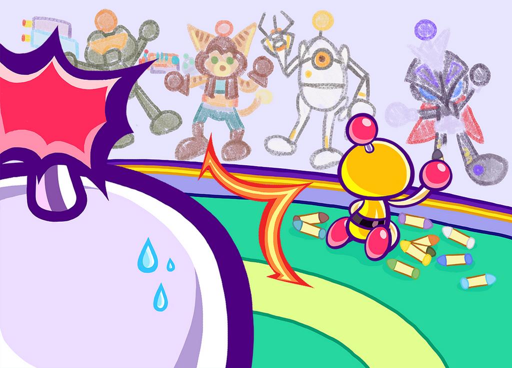 Super Bomberman R multi-format release by Katzii-Yataki