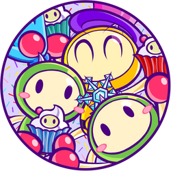 Shiny Team Cake by Katzii-Yataki