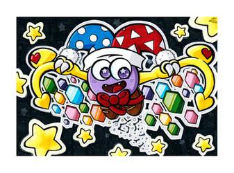 Kirby Boss Art Jam - Marx by Katzii-Yataki