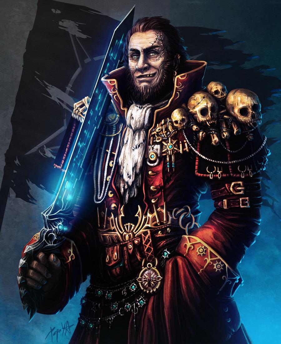 Captain Gideon Darkholme by Papaya-Style