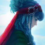 hair like the sky by Papaya-Style