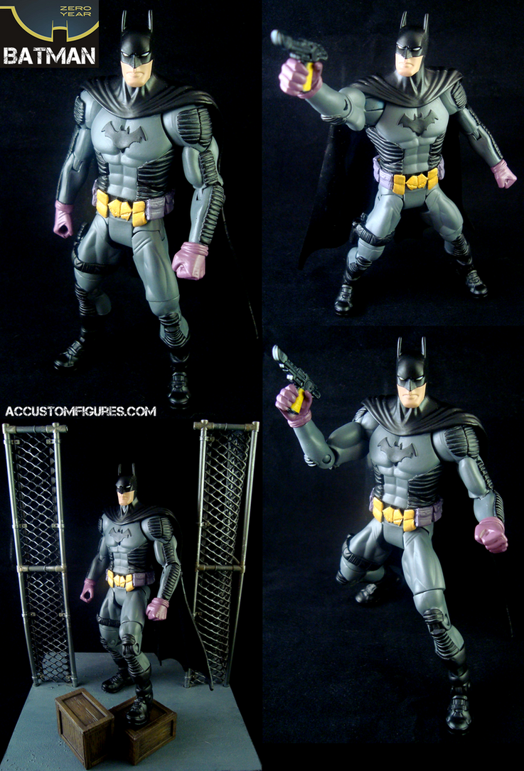 Custom Zero Year Batman by ACCustomFiguresACCF on DeviantArt