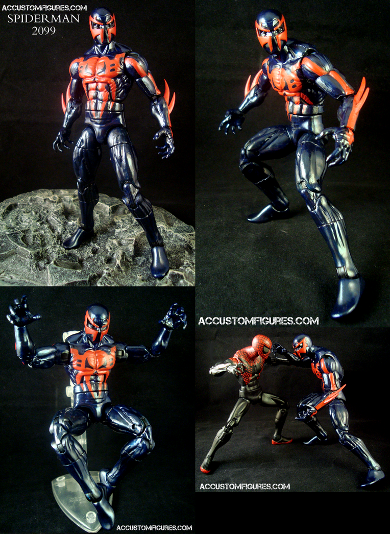 Spiderman 2099 Custom ... Mangaverse Spider Man Wallpaper