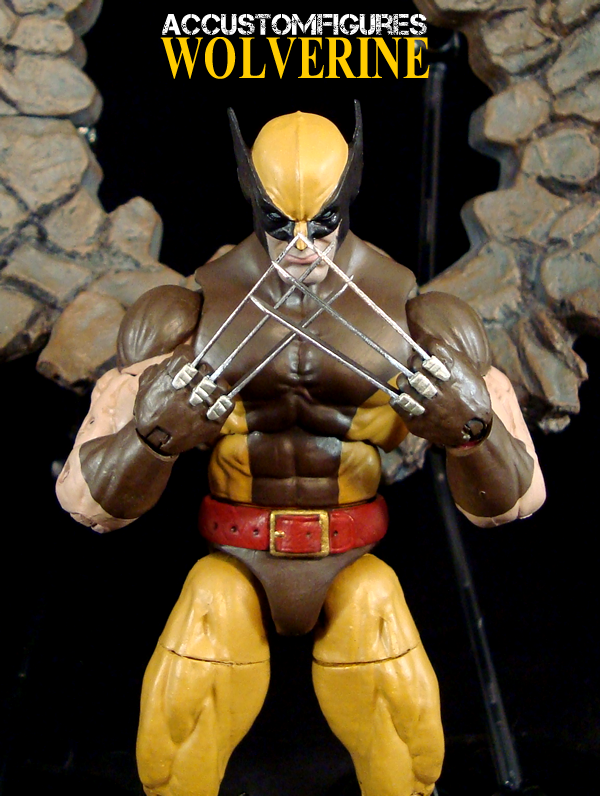 Wolverine BROWN suit custom Marvel Legends figure by ...