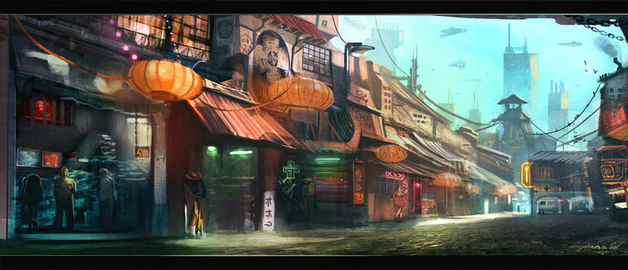 Black Gate Market by Exphrasis