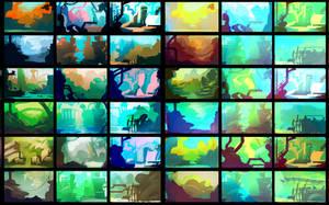Color script 1 by Exphrasis