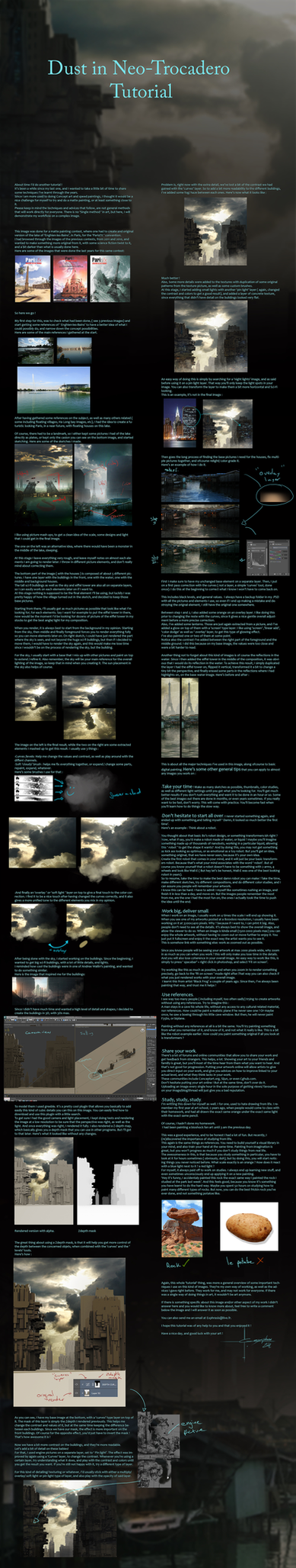 Tutorial- Dust in Neo-Trocadero by Exphrasis