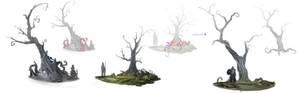 Aarklash : Legacy tree concept
