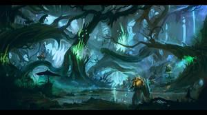 Diablo3 Fanart - Quest For The Treasure Goblin.