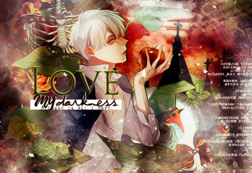 Lovemydarkness by MinmeyPrints