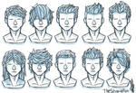 Random Hairstyles Male