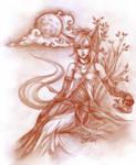 SC :: Kitsune Elegance by dawnshue
