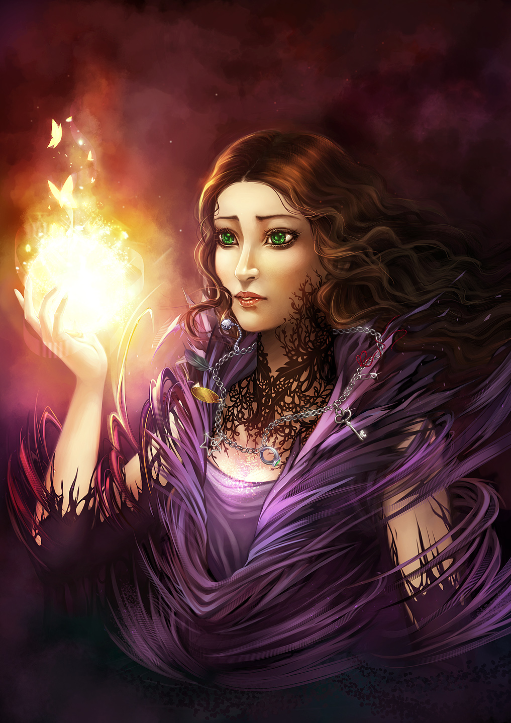 Lena of Light: Only our Will by V-shue