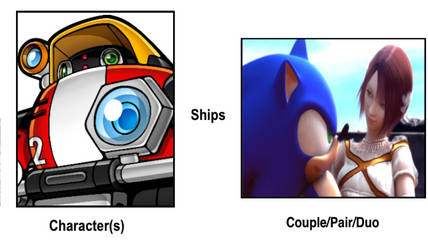 E-102 Gamma Ship Sonic and Elise by eddiestrickland18