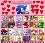 Harem for Sonic the Hedgehog