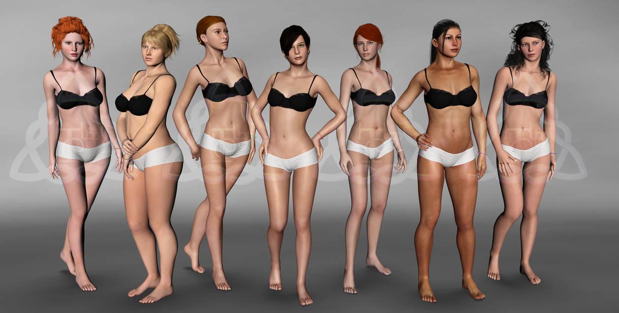 ladies undressed
